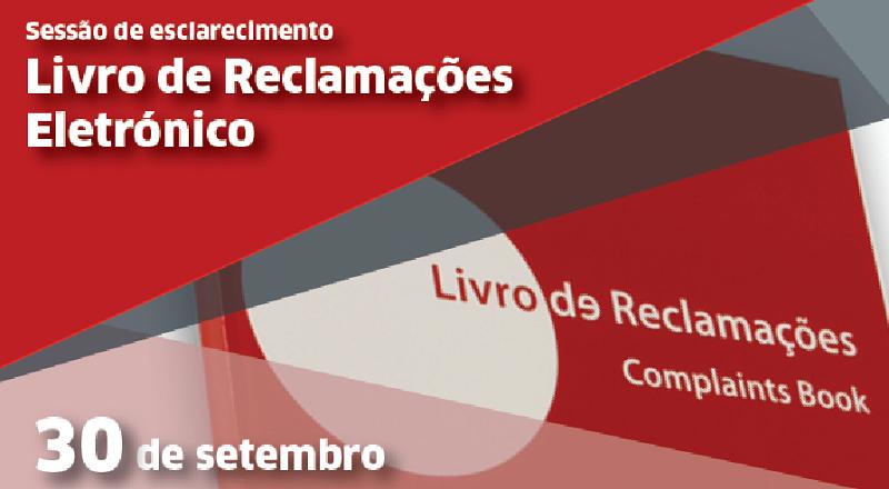 Faro | Sessão de esclarecimento gratuita sobre o Livro de Reclamações Eletrónico