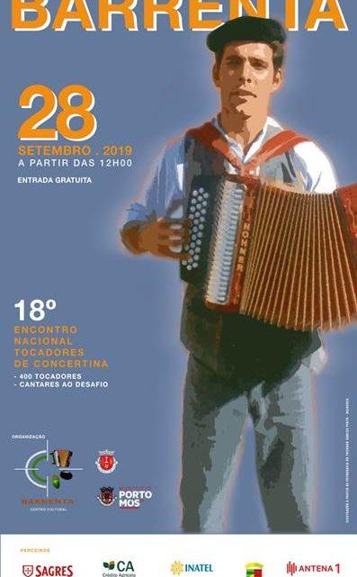 Música | 18º Encontro Nacional de Tocadores de Concertina