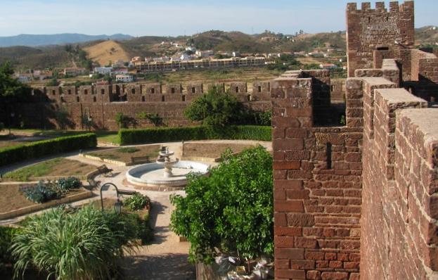 Algarve | Obras no Castelo de Silves