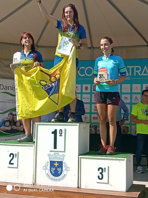 Desporto | JOANA FRANCA E LUIS DUARTE DA SOCIEDADE COLUMBÓFILA PARTICIPARAM NO COIMBRA TRAIL – 2019