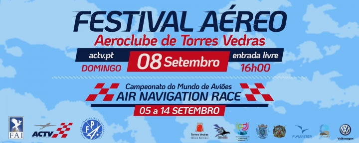 Torres Vedras | SANTA CRUZ ACOLHE CAMPEONATO DO MUNDO DE AIR NAVIGATION RACE 2019