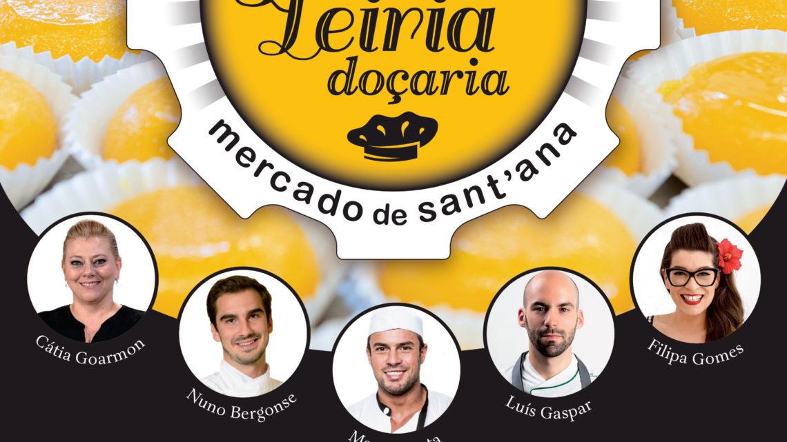 Oeste | Prove Leiria Doçaria: está de volta ao Mercado Sant'Ana o fim de semana mais doce do ano