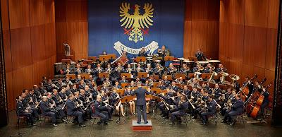 Dia 12 de outubro, com Bastien Baumet como solista convidado – Concerto da Banda de Música da Força Aérea no Pavilhão Multiusos de Febres