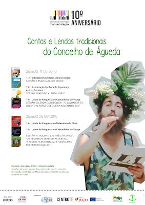 Região de Aveiro |Cultura: Histórias em itinerâncias: Contos e Lendas tradicionais do Concelho de Águeda