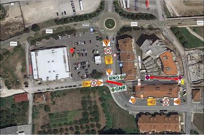 Município de Porto de Mós | Condicionamento de trânsito na Avenida da Vila Forte