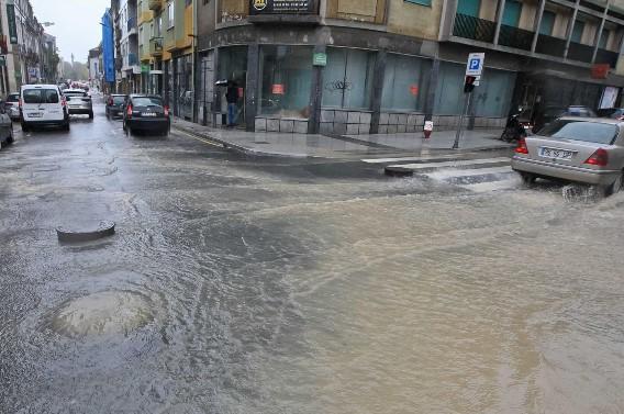 Porto | Numa hora choveu no Porto o equivalente a meio mês de outubro