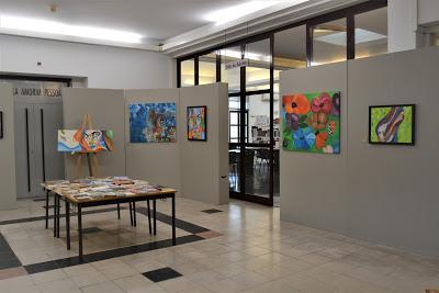 Biblioteca Municipal acolhe exposição de pintura de Margarida Garrido, até ao próximo dia 31 de outubro