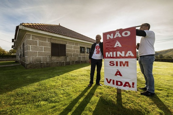 "Legislativas 2019: Populares de Morgade repetem ""voto de protesto"" contra a mina"
