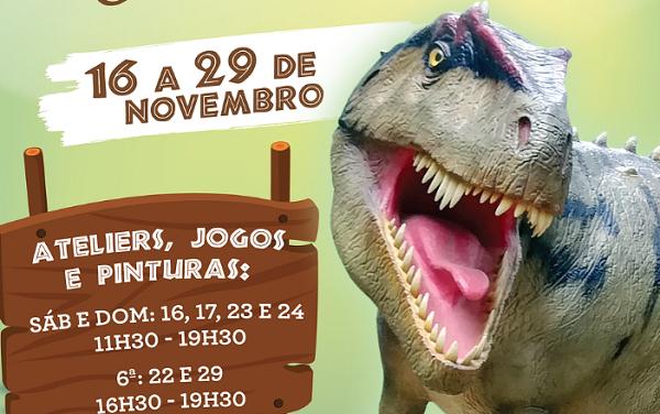Coimbra   Os Dinossauros vão invadir o CoimbraShopping