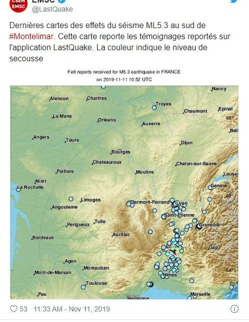 Mundo   França: Sismo em França faz vários feridos