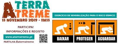 A TERRA TREME: Ação de preparação para o risco sísmico na Escola Secundária Sebastião e Silva (Oeiras) – dia15 de novembro