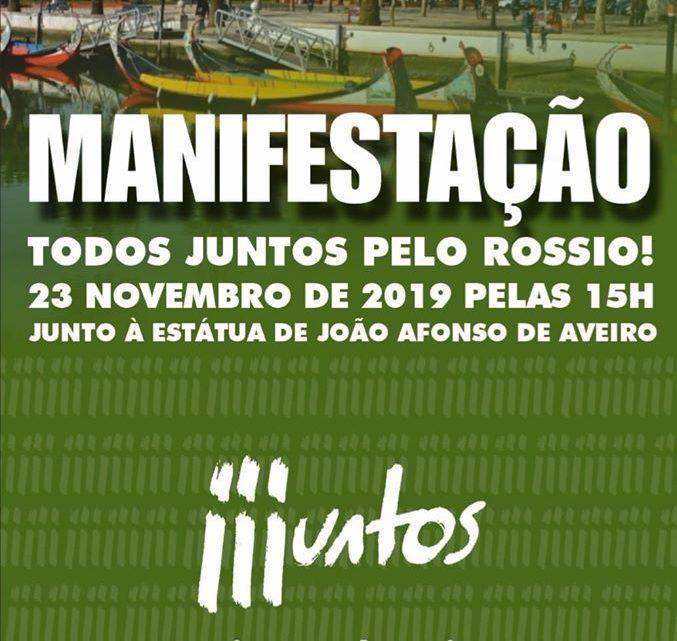 Aveiro | CARTAZ DA MANIFESTAÇÃO DE 23 DE NOVEMBRO