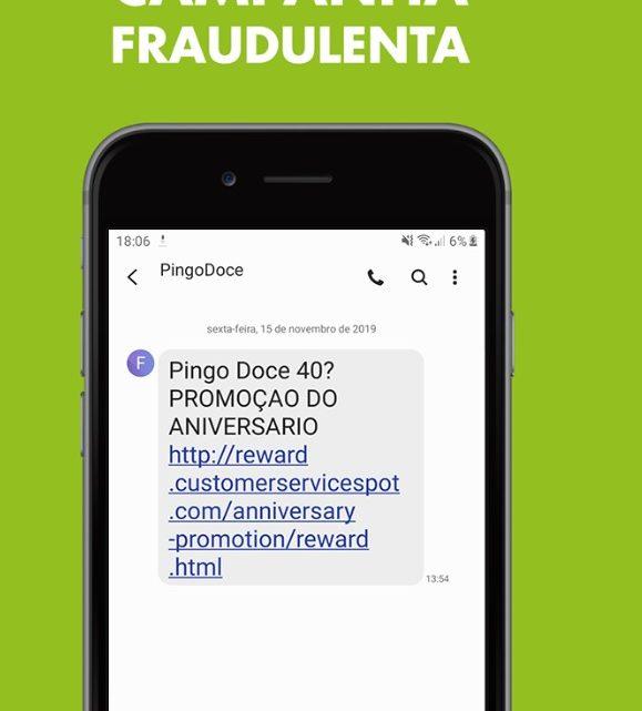 Pingo Doce alerta clientes para campanha fraudulenta através de SMS