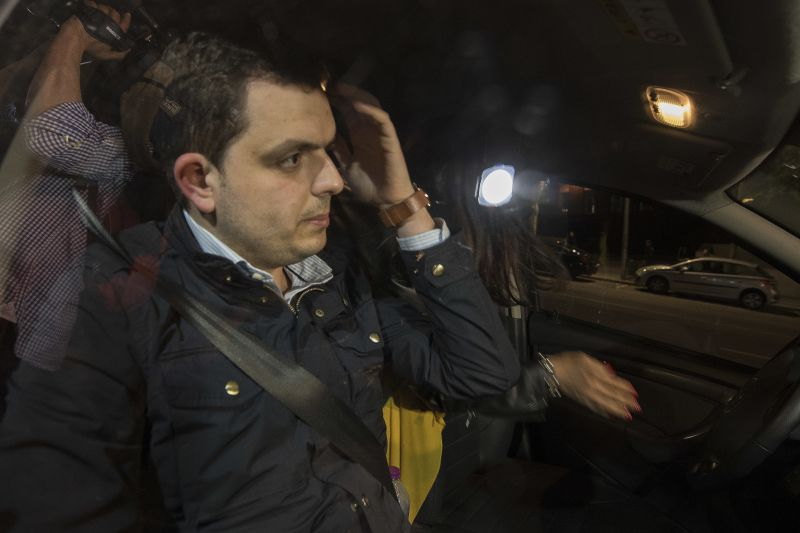 Sporting CP. Bruno Jacinto informou André Geraldes da ida de elementos da claque à Academia