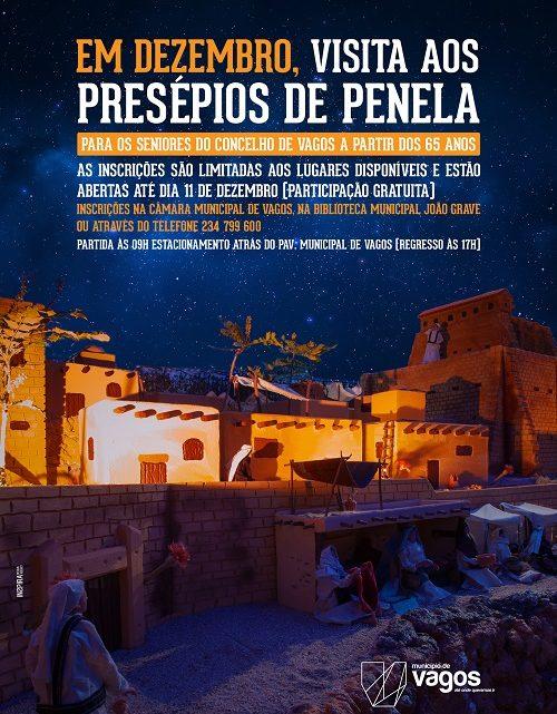 Vagos promove passeio sénior aos presépios de Penela