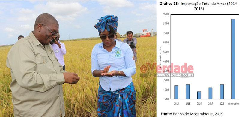 Mundo | Estudo do Banco de Moçambique evidencia falhanço da produção de arroz em Gaza e que Governo falhou meta de produção
