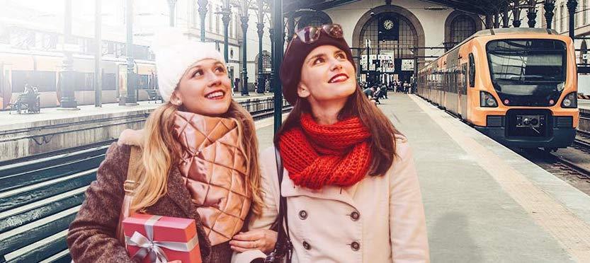 CP: Urbanos de Lisboa, Porto e Coimbra com viagens a 2 euros para as compras de Natal