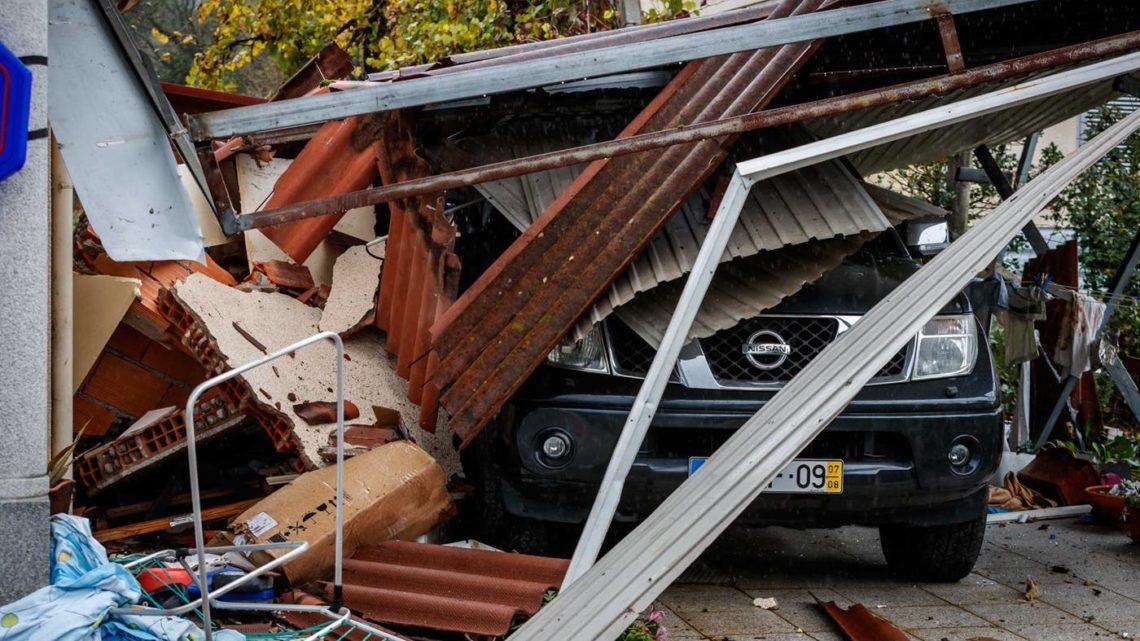 Norte | Explosão destrói casa e fere duas pessoas em Guimarães