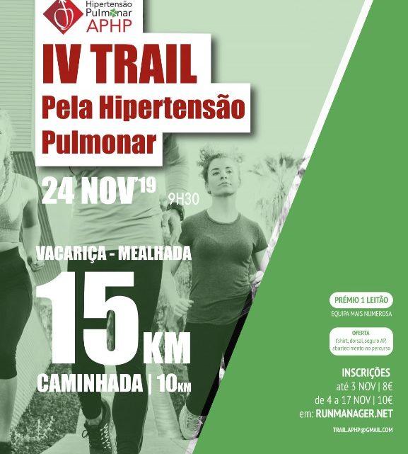 A Vacariça vai ser, novamente, o palco do Trail Solidário pela Hipertensão Pulmonar