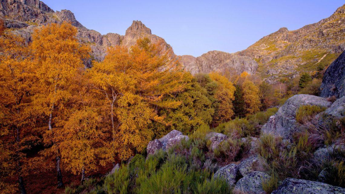Manteigas no coração da fotografia de paisagem