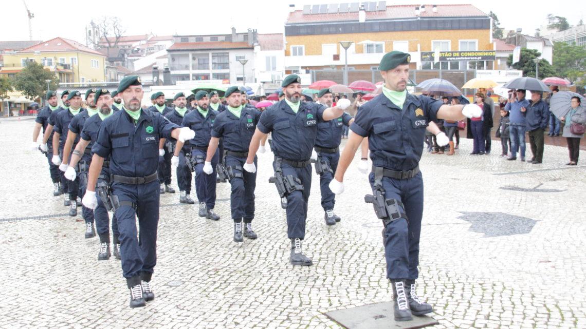 Águeda acolheu as cerimónias do Dia do Comando Territorial de Aveiro da GNR