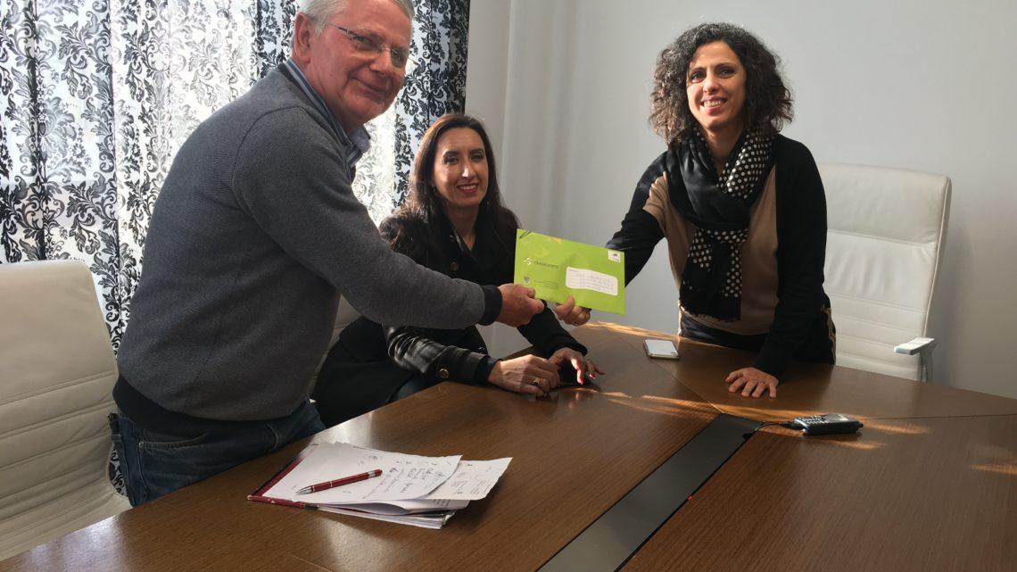 Alvaiázere | Festival Literário Internacional do Interior gera donativo à IPSS Centro Social de Pussos