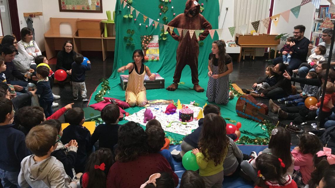 AtrapalhArte realiza ciclo de teatro infantil em Cantanhede
