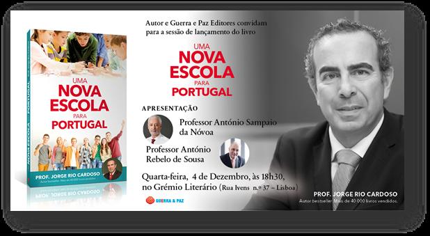 Livros | Lançamento «Uma Nova Escola para Portugal»