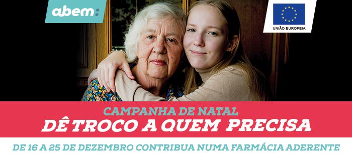 """Até 25 de dezembro """"Dê troco a quem precisa"""" nas farmácias do distrito de Aveiro"""