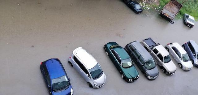 Moçambique | Primeiro aguaceiro intenso da Época Chuvosa inunda a Cidade da Beira