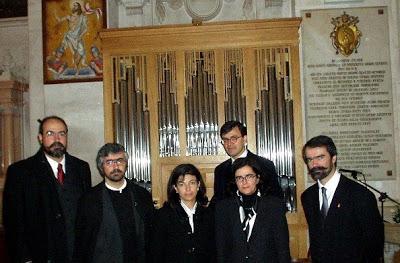 Dia 7 de dezembro, em Ourentã Concerto Mariano com o Grupo Coral Ançãble