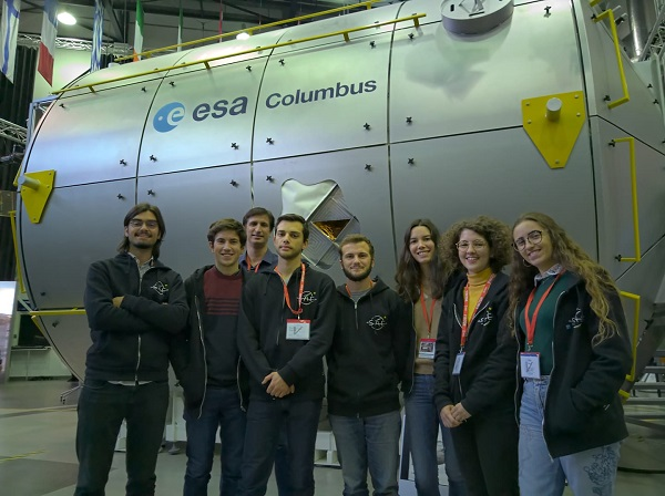 Experiência da Universidade de Coimbra vai à estratosfera no balão BEXUS 31 da Agência Espacial Europeia