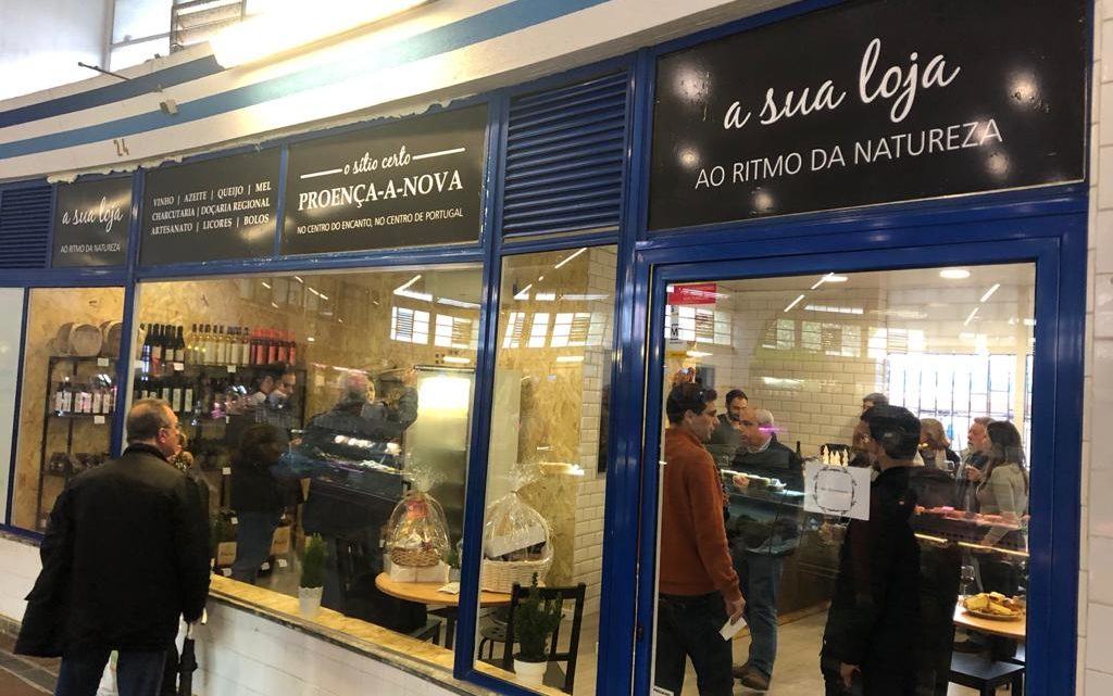 Loja com produtos de Proença-a-Nova abre no Mercado Municipal de Benfica