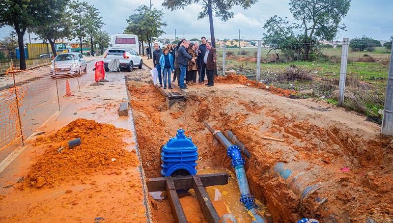 Obras de 15 milhões de euros em curso no concelho de Albufeira