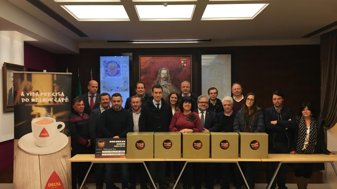Delta Cafés e Expofacic proporcionam um melhor Natal a 30 famílias do concelho de Cantanhede