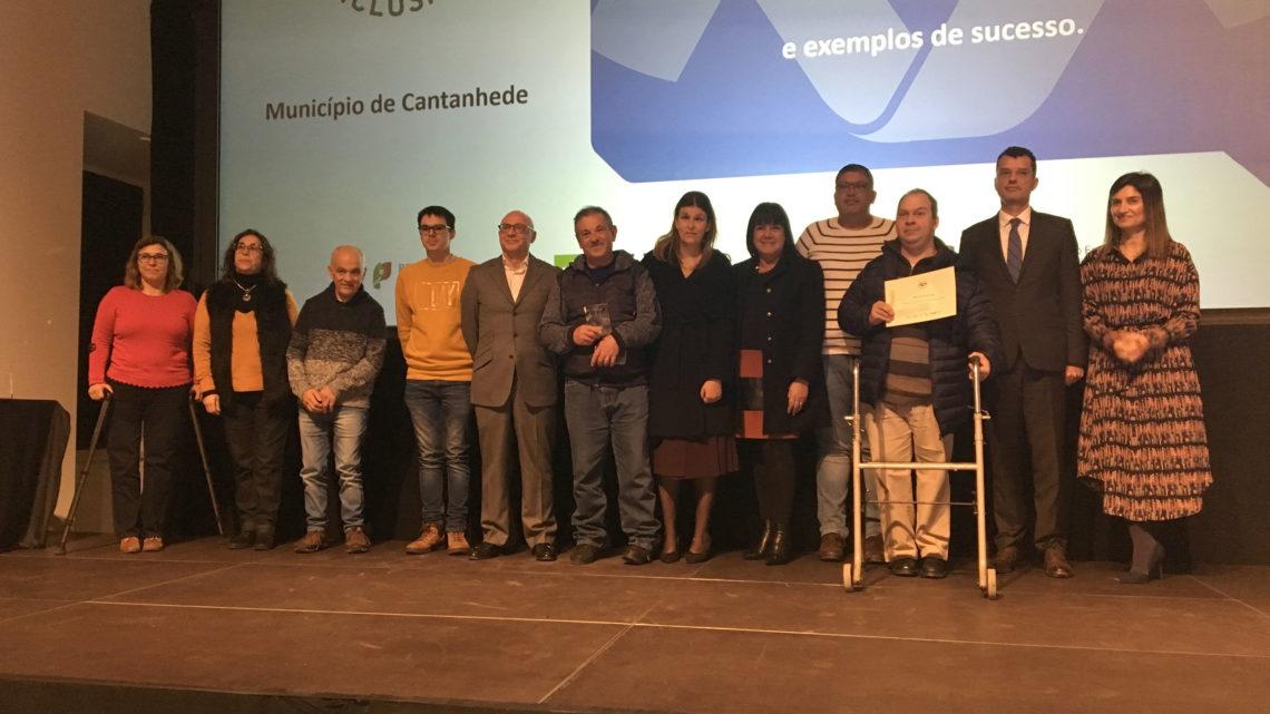 Pelo Instituto de Emprego e Formação Profissional – Município de Cantanhede foi reconhecido como Entidade Empregadora Inclusiva