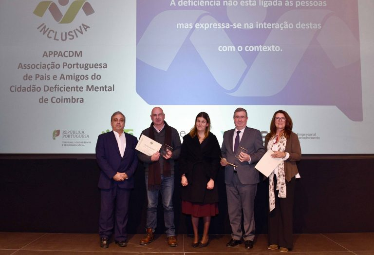 APPACDM de Coimbra distinguida com Marca Entidade Empregadora Inclusiva