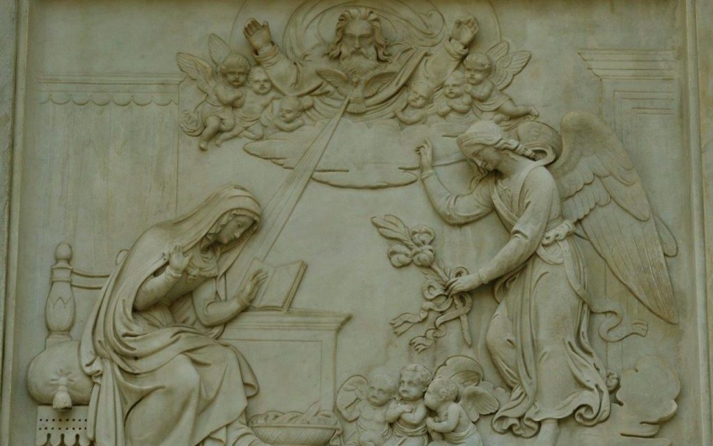 """Religião   """"Eis aqui a escrava do Senhor!"""""""