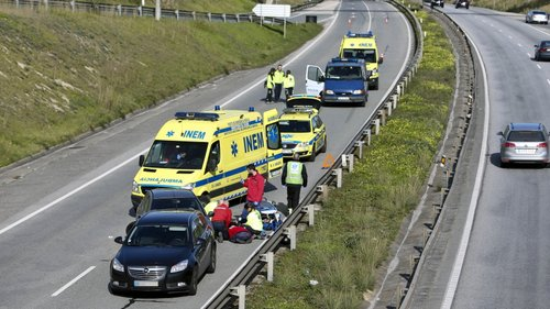 Homem morre atropelado por dois automóveis no IC2, em Coimbra
