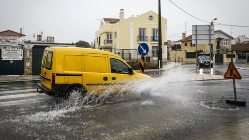 Mau Tempo: Chuva provocou 32 inundações nos distritos de Beja, Évora e Portalegre