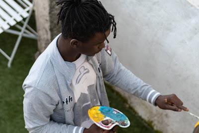 Covilhã| JOVEM ARTISTA GUINEENSE EXPÕE NA GALERIA ANTÓNIO LOPES