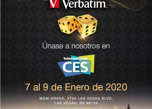México | Verbatim Presentará En CES 2020 Sus Productos Del Futuro