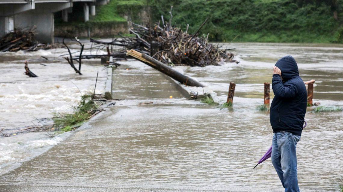 Depressão Glória atinge no domingo Portugal continental com vento forte