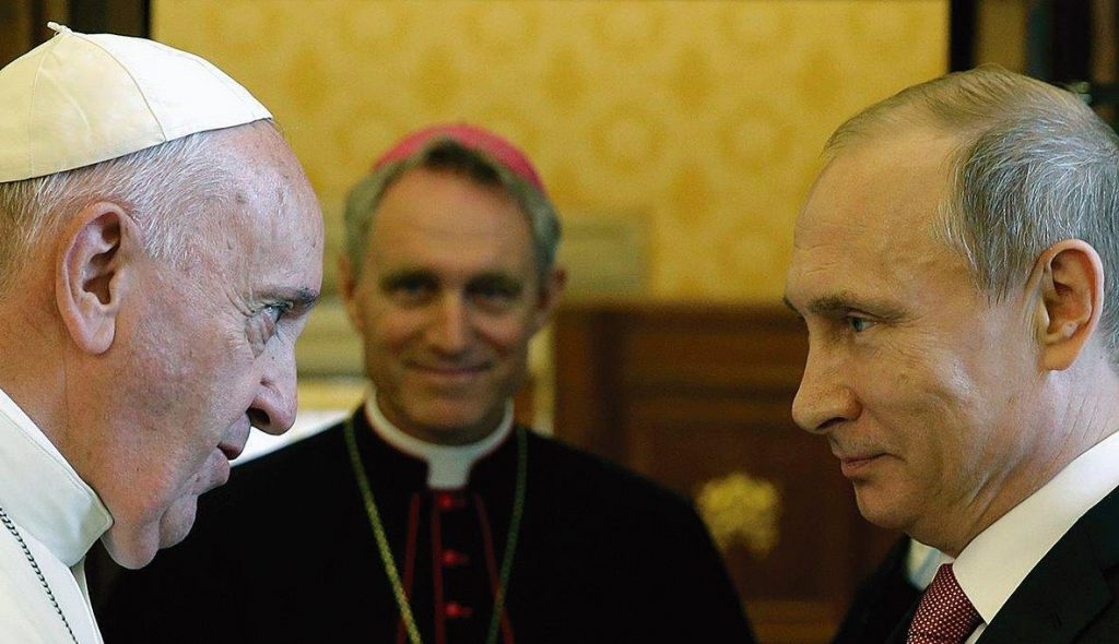 Papa Francisco e Vladimir Putin: dois polos?