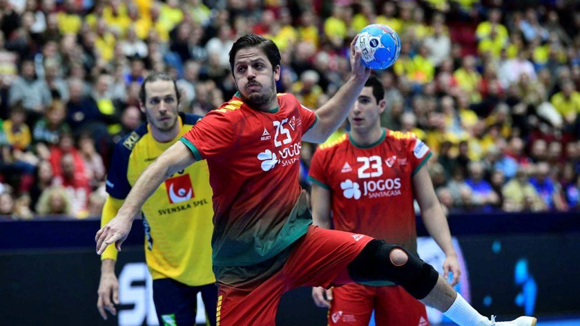 Portugal vence Suécia por dez golos na segunda fase do Europeu de Andebol