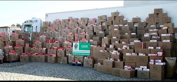 Nova apreensão eleva para 1,2 milhões o número de cigarros apreendidos desde 2018 pelo fisco