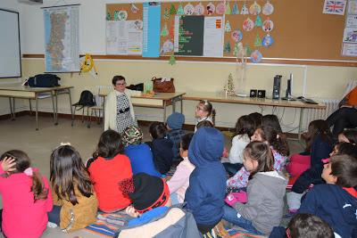 Biblioteca Municipal promove encontros da escritora Lurdes Breda com alunos das Escolas Básicas de Covões e da Tocha