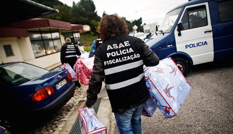 Têxteis, perfumes e sapatilhas. ASAE apreende 187 mil artigos contrafeitos
