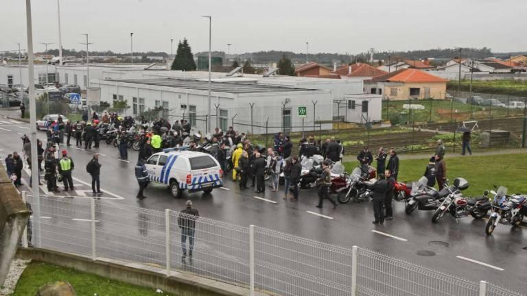 Corpo de Paulo Gonçalves chegou a Portugal. Cortejo fúnebre acompanhado por uma centena de 'motards'