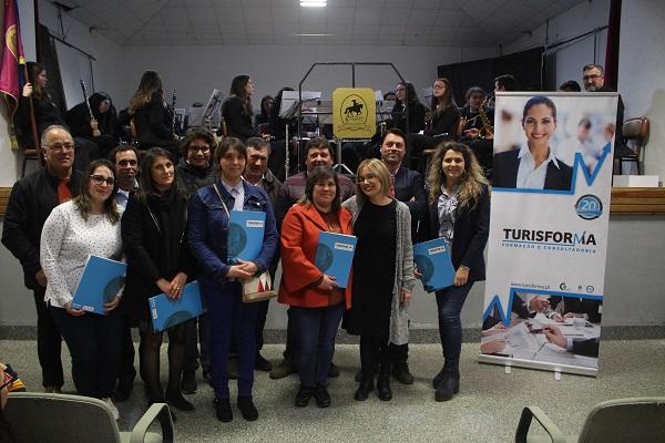 Junta de Cordinhã e Turisforma entregam Diplomas conclusão do 12.º Ano